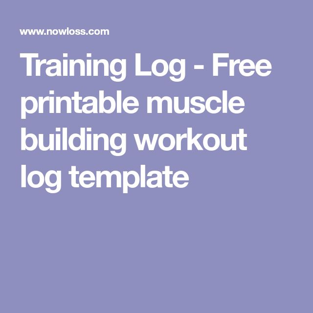 Best 25+ Workout log ideas on Pinterest Workout log printable - free log template