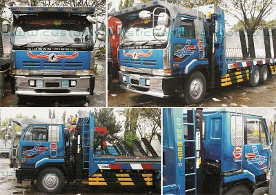 Nissan Diesel Truck - Custom Sticker (Part I)