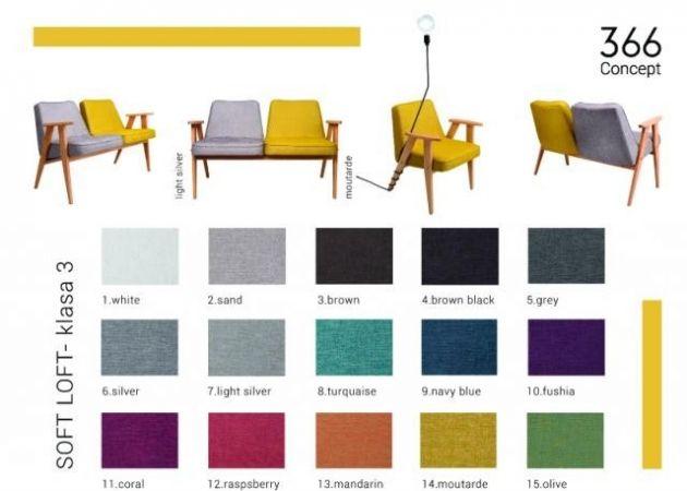 fotel 366 polski design, chierowski