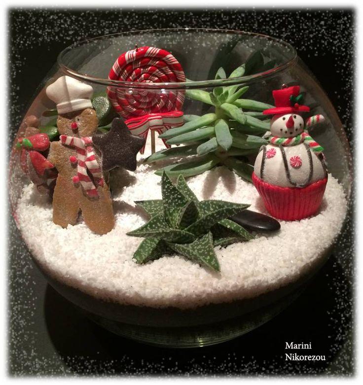 Candy Christmas Terrarium
