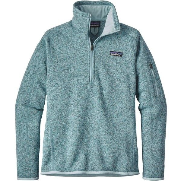Patagonia Better Sweater 1/4 Zip Women's ($55) ❤ liked on Polyvore featuring tops, sweaters, 1 4 zip sweater, fleece lined sweater, knit sweater, quarter zip sweater and knit top
