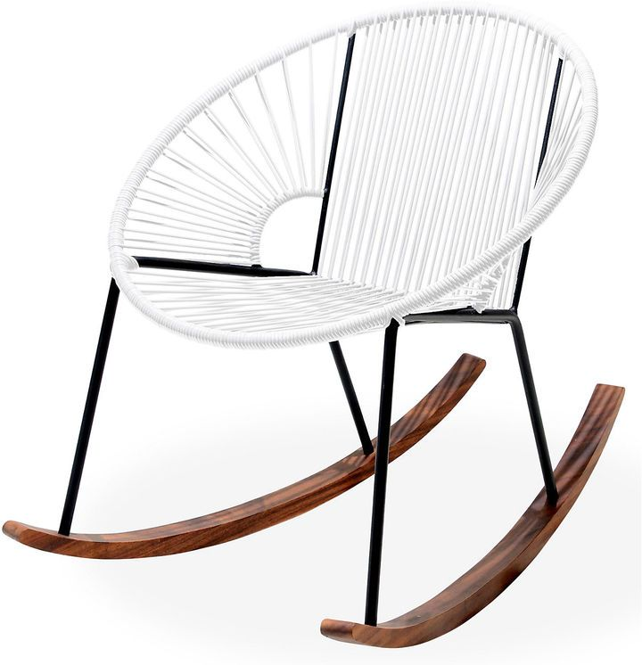Carefully Handcrafted By Skilled Artisans And Certified Welders In Mexico,  This Modern Rocking Chair Is