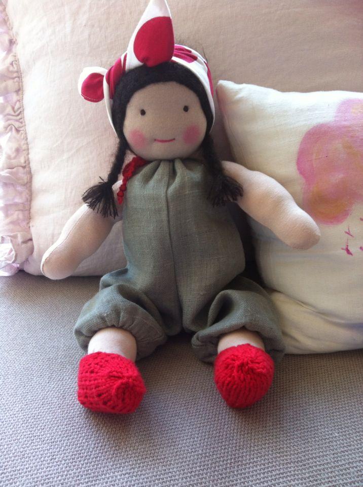 ...meine erste Puppe...