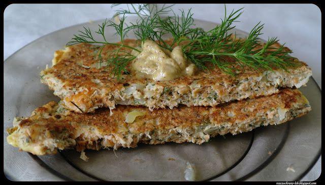 Rozczochrany Łeb!: Omlet łososiowo-otrębowy