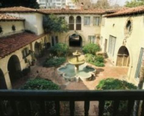 """El Cabrillo condo La Fortuna """"A Real-Life Spanish Courtyard"""" from Til There Was You movie"""