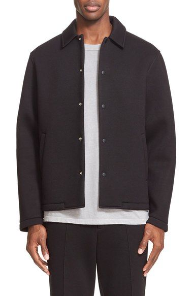 T by Alexander Wang Scuba Neoprene Jacket available at #Nordstrom