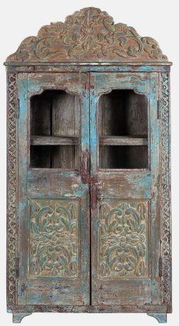 oude-almirah-kast-uit-india-kast-oosterse-meubelen-blauw-bruin-90x33x173-koreman-maastricht-02819-voor