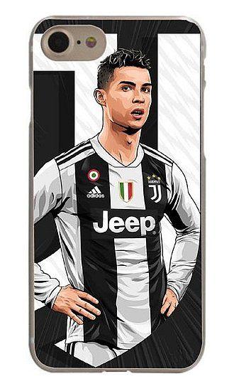e63e26ffe Cristiano Ronaldo Apple iPhone Case 6 7 8 Plus X Juventus Jersey 2018 2019  CR7Juve Hard Plastic  2