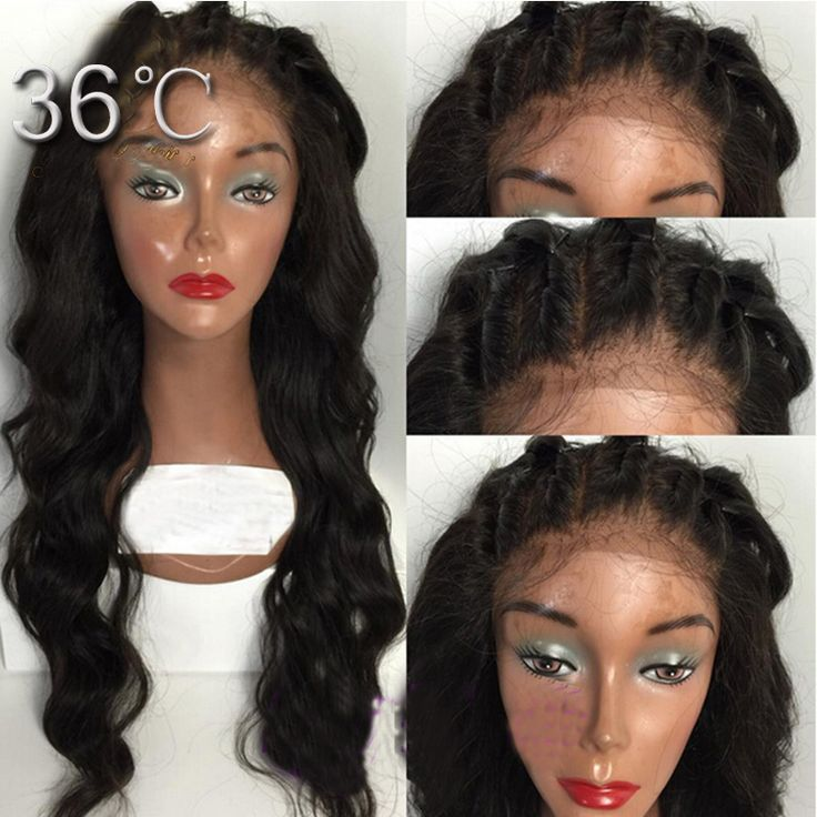 Free Parting Full Lace Wig with Baby Hair Around Glueless Full Lace Human Hair Wigs  Loose Wavy Lace Front Wigs for Black Women