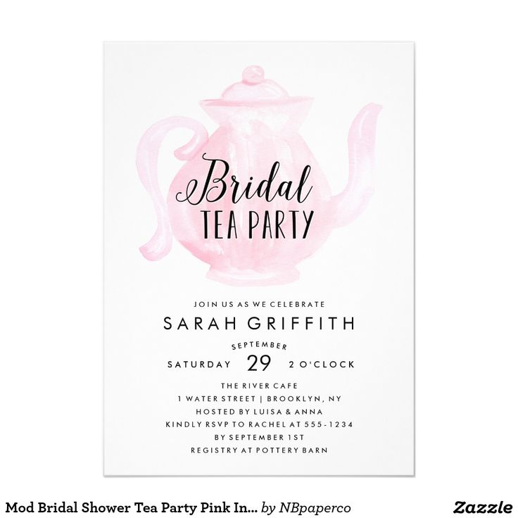 13 best Tea Party invitation inspiration/templates images on ...