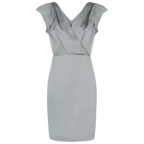 clmarelich0824:  Reiss Cora Drape Front Dress    liked on...