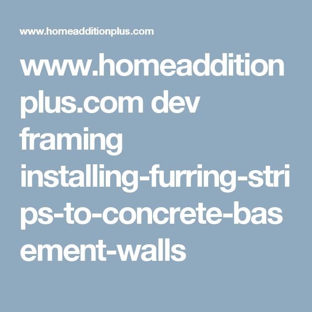 Best 25+ Concrete Basement Walls Ideas On Pinterest
