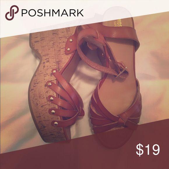 Boho Sandals Boho sandals. Wear 1x. Very confortable. Shoes Sandals