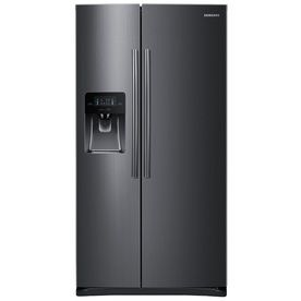 Product Image 1 Side By Side Refrigerator Black Stainless Steel Stainless Steel Refrigerator