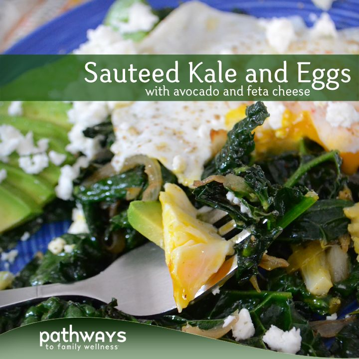 Sauteed kale, Healthy breakfasts and Feta on Pinterest