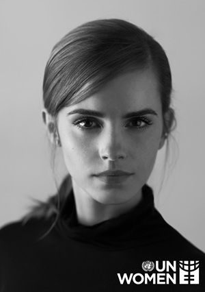 "UN Women, the UNITED NATIONS organization dedicated to gender equality and the empowerment of women,  announces the appointment of British Actress, EMMA WATSON (Hermione Granger/'Harry Potter' films), as GOODWILL AMBASSADOR.  The accomplished actress, humanitarian, and RECENT GRAD OF BROWN UNIVERSITY, will dedicate her efforts towards the empowerment of young women and will serve as an advocate for UN Women's ""HeForShe"" campaign in promoting gender equality. . . .   -- July 8, 2014"