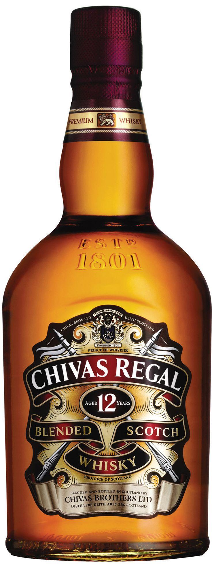 "Blended Scotch Whisky ""Chivas Regal 12 Years"" - Chivas Brothers Ltd, Escocia, UK"
