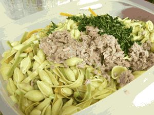Sweet tomatoes tuna pasta recipe
