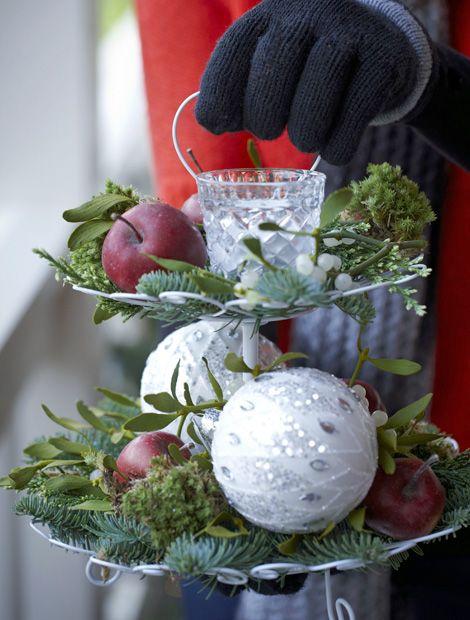 116 besten weihnachten adventsdeko bilder auf pinterest for Dekoration in rot
