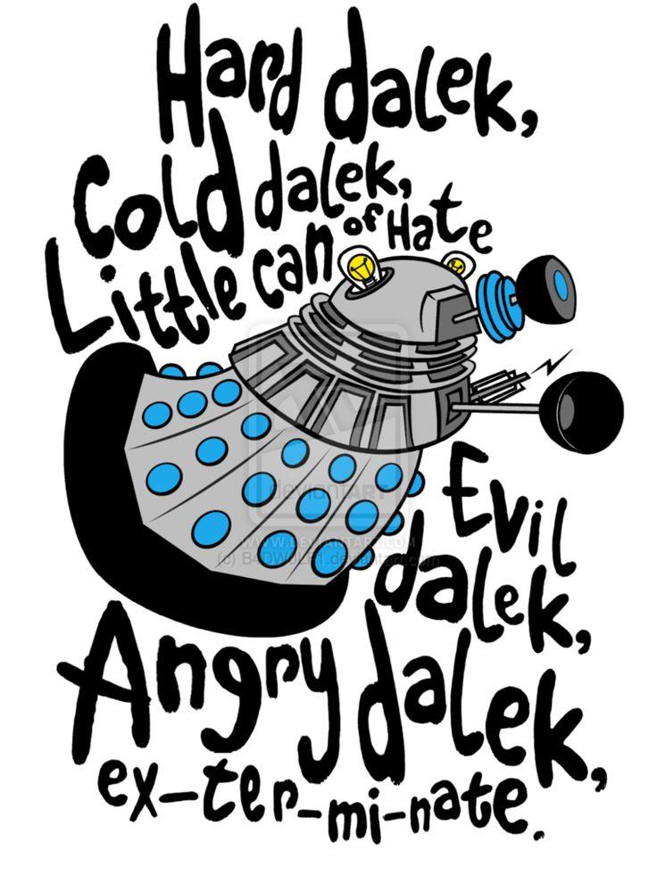 Soft Kitty--- Dalek version!