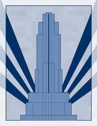 Deco skyscraper. @designerwallace