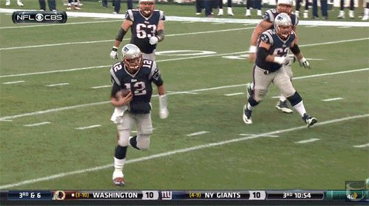 Is That New England Patriots QB Tom Brady Trying to Run Over Someone? And Talking Trash? [VIDEO] | FatManWriting