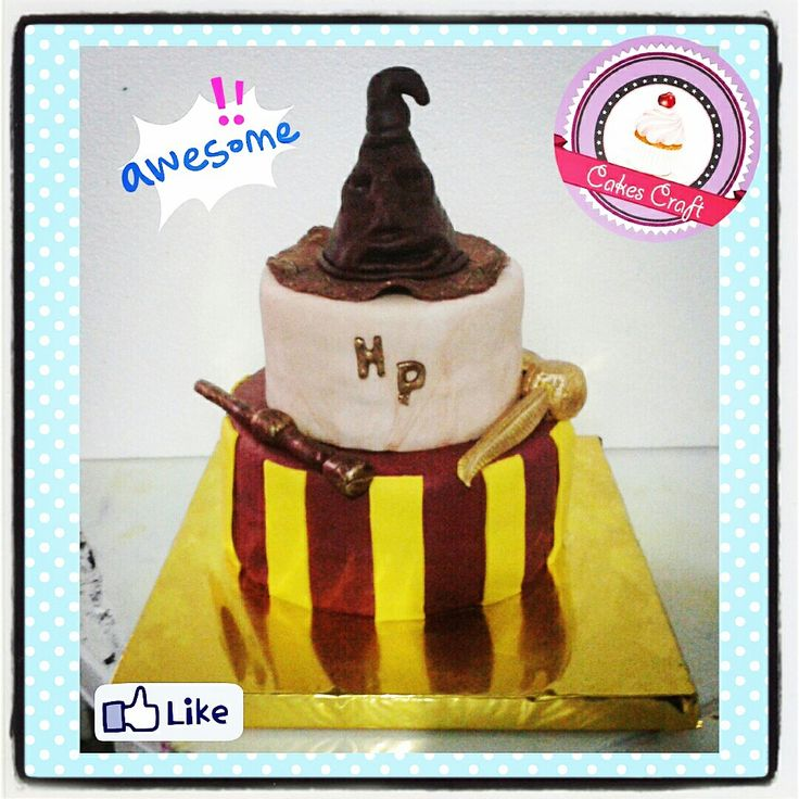 Harry Potter's Cake!/ CID - 517 #tortatematica #barranquilla #cakestagram #uniautonoma #uniatlantico #uninorte #unilibre #unimetro  #hbd #cumpleaños #CakescraftKeados #cakeboss #cupcakewar #cakescraftbq #airsoft #halamadrid #jamesrodriguez10 #collagecostacaribe #enchufetv #harrypotter #canalcaracol #howarts #harrypottercake #griffindor #rio2016 #snitchdorada #varitadesauco #sombreroseleccionador #voldemort #dobby
