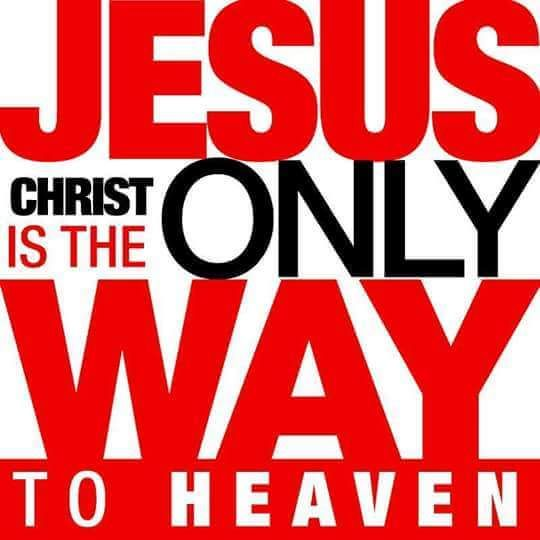 the three points on jesus as the only way The only way to enter the kingdom of heaven is through doing the will of god   whether it is jesus' conversation with rabbi niccodemus in john 3  with  whom we disagree, could learn something from jesus on this point.