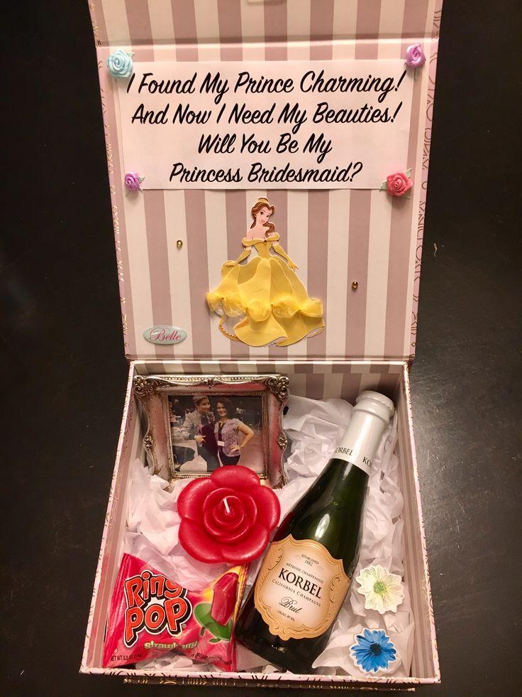 Disney Bridesmaid Boxes