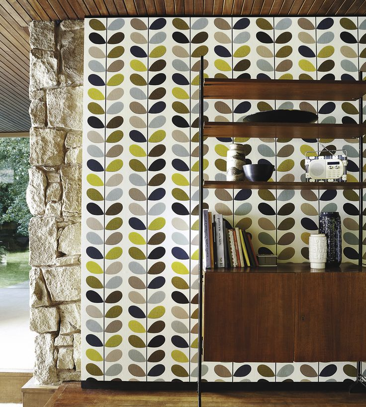 Interior Design Classic, Retro | Orla Kiely, Multi Stem Wallpaper by Harlequin | Jane Clayton