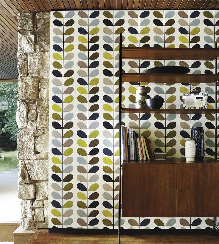 70s Interior Design Revival | Multi Stem Wallpaper by Harlequin | Jane Clayton