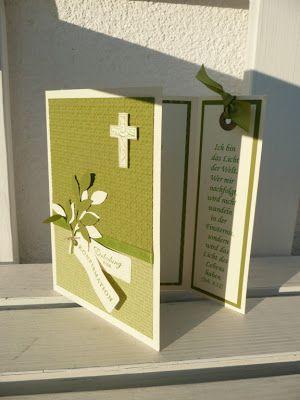 °°°Lieblingsstempel°°° kreativ mit Stempel und Papier und Stampin´Up!: Einladung zur Konfirmation