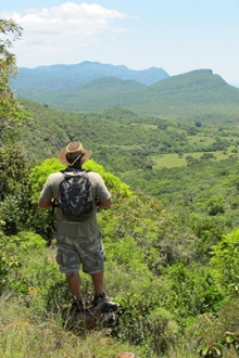 Leshiba Wilderness, high in the Soutpansberg near Makhado in Limpopo