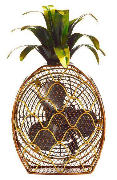 ■ DecoBREEZE Pineapple Figurine Fan - $96 | Nordstrom