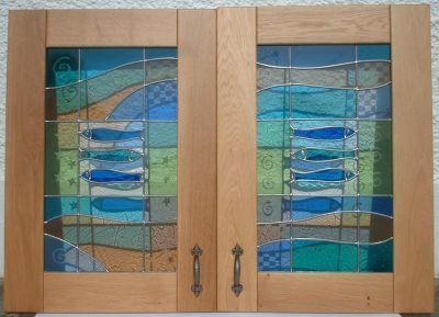 23 best images about stained glass kitchen cabinets on