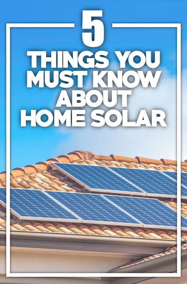 how to connect solar panels to home