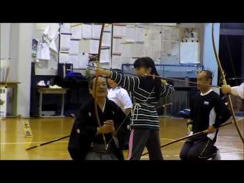 玉城町弓道教室23日目 - YouTube