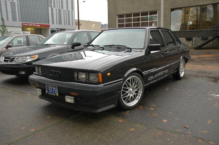 1984 Audi 4000 S Quattro Classic Cars Pinterest Audi