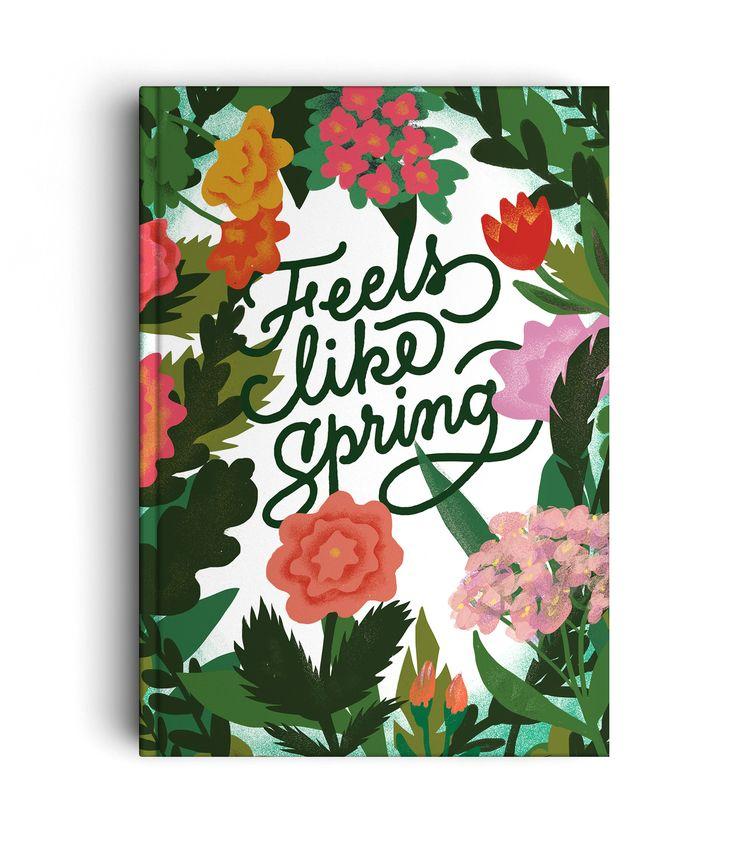 FEELS LIKE SPRNG - LETTERING - Art direction : Lucia Calfapietra and Nicolò Giacomin - Illustration : Lucia Calfapietra @lucerosa