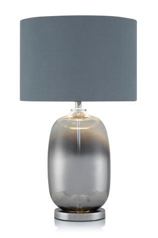 Buy Smoke Ombre Glass Table Lamp from the Next UK online shop