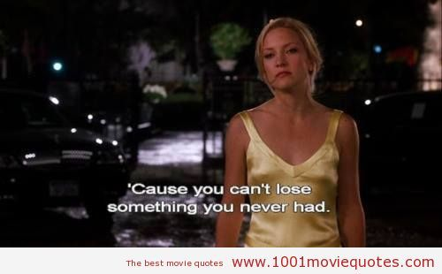 When A Man Loves A Woman Movie Quotes: How To Lose A Guy In 10 Days (2003) Movie Quote