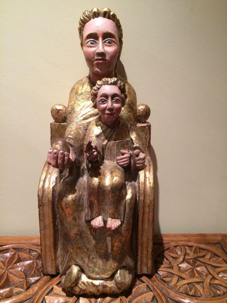 Virgen de la silla de alfonso pellejero