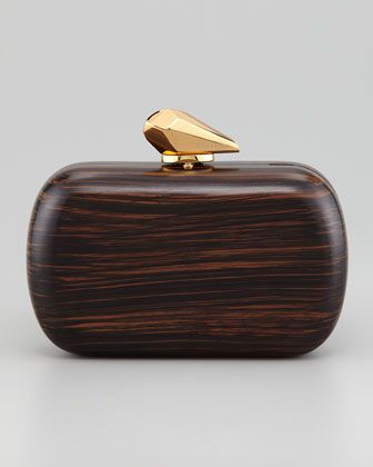 Accessories like a Wooden Minaudiere by Kotur.