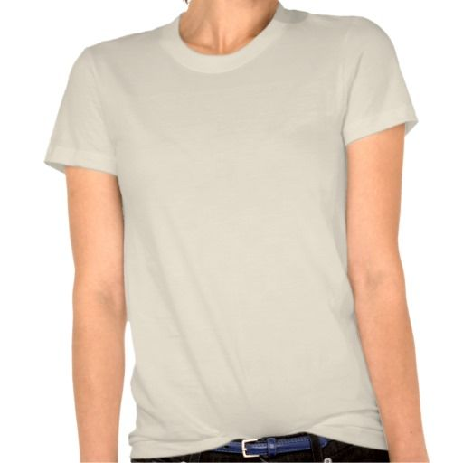 Ladies Organic T-Shirt (Fitted), Natural at Zazzle.ca