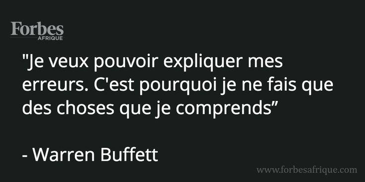 #Citation de Warren Buffett