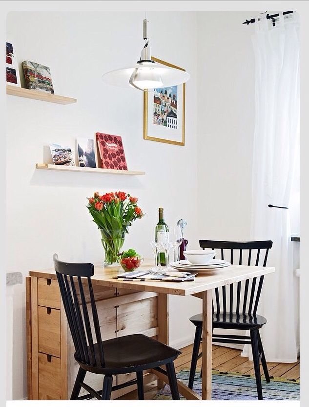 ive been looking for a table for our tiny kitchen this is great now if i can only persuade my husband into building it