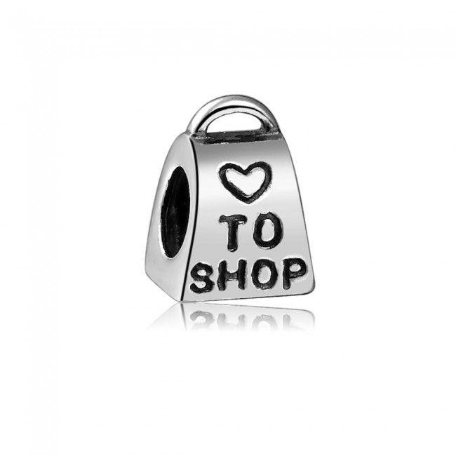 Bolsa de Compras de Prata de Lei 925 http://www.soufeel.com.br/berloques/berloque-bolsa-de-compras-de-prata-de-lei-1104.html