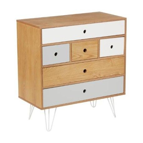Commode 6 tiroirs Shulg