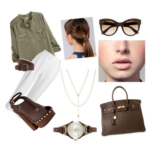 as minhas criações by margarida-costodio on Polyvore featuring polyvore fashion style H&M Jones New York Tom Ford Hermès Jennifer Zeuner FOSSIL Gucci Forever 21 Easy Spirit