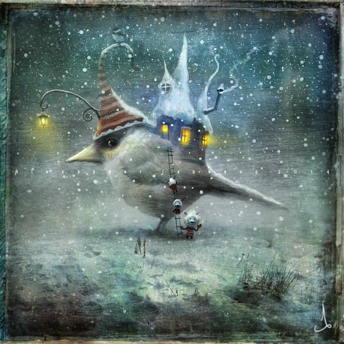 alexander jansson / we come in peace